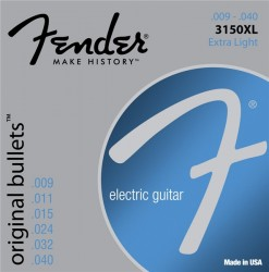 Fender Original Bullets 3150XL Pure Nickel Light Electric Strings