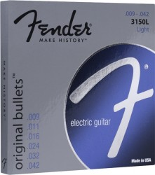 Fender Original Bullets 3150L Pure Nickel Light Electric Strings