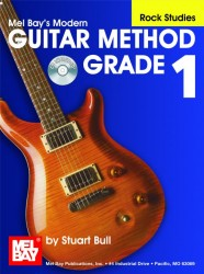 Modern Guitar Method Grade 1, Rock Studies Book/CD Set