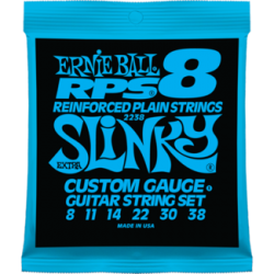 Ernie Ball 2238 RPS-8 Slinky Nickel Wound Set, 8-38