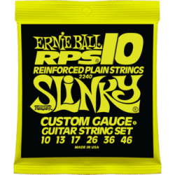 Ernie Ball 2240 RPS-10 Slinky Nickel Wound Set, 10-46