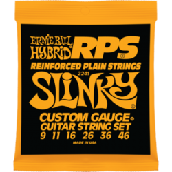 Ernie Ball 2241 RPS-Hybrid Slinky Nickel Wound Set, 9-46