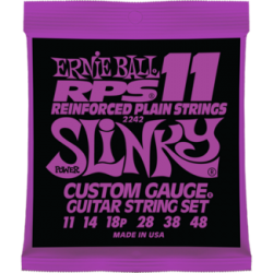 Ernie Ball 2242 RPS-11 Slinky Nickel Wound Set, 11-48