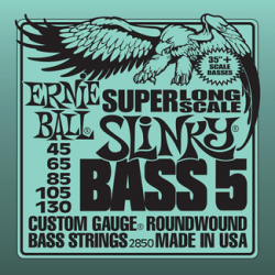 GHS Bass Guitar Boomers 5-String High C 30-100 5M-C-DYB