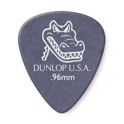 Dunlop 417R.96 Gator Grip Guitar Picks, .96mm, 72 pack