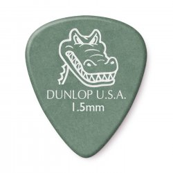 Dunlop 417R1.50 Gator Grip Guitar Picks, 1.50mm, 72 pack