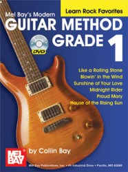 Modern Guitar Method Grade 1, Learn Rock Favorites (Book/DVD Set)