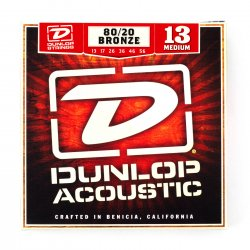 Dunlop DAB1356 Medium 80/20 Bronze Acoustic, 13-56