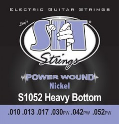SIT Strings S1052 Power Wound Electric Heavy Bottom, 10-52