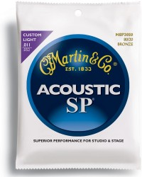 Martin MSP3050 SP 80/20 Bronze Custom Light Acoustic, 11-52