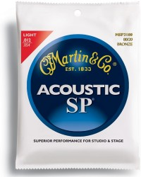 Martin MSP3100 SP 80/20 Bronze Light Acoustic, 12-54
