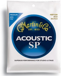 Martin MSP3200 SP 80/20 Bronze Medium Acoustic, 13-56