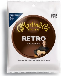 Martin MTR13 Tony Rice Bluegrass Acoustic Guitar Strings, 13-56