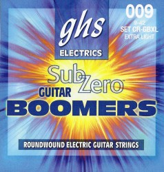 GHS CR-GBXL Sub-Zero Guitar Boomers Extra Light, 9-42