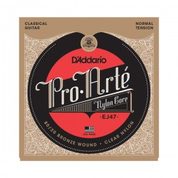 D'Addario EJ47 80/20 Bronze Pro-Arté Nylon, Normal Tension