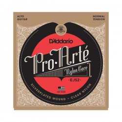 D'Addario EJ52 Pro-Arté Alto Guitar, Normal Tension