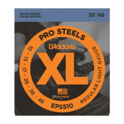 D'Addario EPS510 ProSteels, Regular Light, 10-46