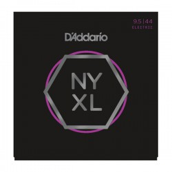 D'Addario NYXL09544 Nickel Wound, Super Light Plus, 9.5-44