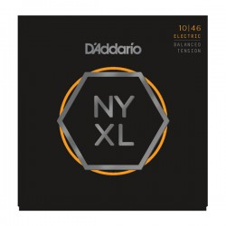 D'Addario NYXL1046BT Nickel Wound, Balanced Tension, 10-46
