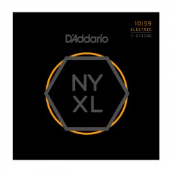 D'Addario NYXL1059 Nickel Wound 7-String, Regular Light, 10-59