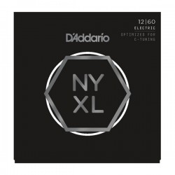 D'Addario NYXL1260 Nickel Wound, Extra Heavy, 12-60