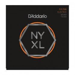 D'Addario NYXL1356W Nickel Wound, Medium Wound 3rd, 13-56