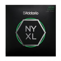 D'Addario NYXL4095 Set Long Scale, Super Light, 40-95