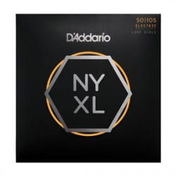 D'Addario NYXL50105 Set Long Scale, Medium, 50-105