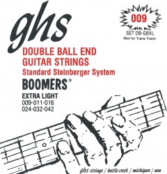 GHS DB-GBXL Double Ball End Boomers Extra Light, 9-42