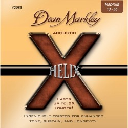 Dean Markley 2083 Helix HD 80/20 Bronze Medium Acoustic, 13-56