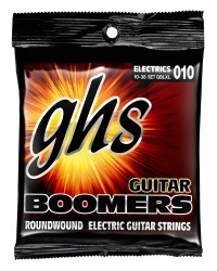 GHS GBLXL Guitar Boomers Roundwound Light/Extra Light, 10-38