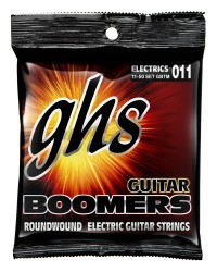 GHS GBTM Guitar Boomers Roundwound True Medium, 11-50