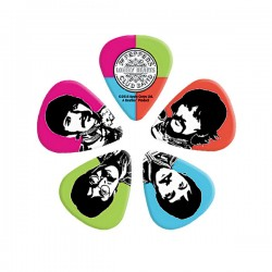 D'Addario Sgt. Pepper's Lonely Hearts Club Band Guitar Picks, Medium
