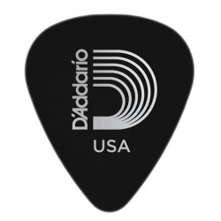 D'Addario 1DBK7-25 Duralin Guitar Picks, Extra Heavy, 25 pack