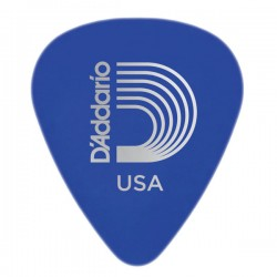 D'Addario 1DBU5-25 Duralin Guitar Picks, Medium/Heavy, 25 pack