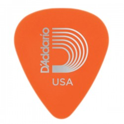 D'Addario 1DOR2-25 Duralin Guitar Picks, Light, 25 pack