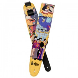 D'Addario 25LB06 Beatles Guitar Strap, Yellow Submarine