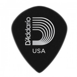 D'Addario 3DBK7-25 Black Ice Guitar Picks, 25 pack, Extra-Heavy