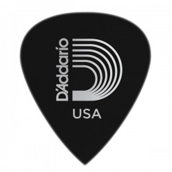D'Addario 6DBK7-10 Duralin Precision Guitar Picks, Extra Heavy, 10 pk
