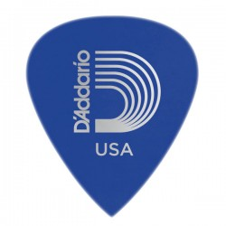 D'Addario 6DBU5-100 Duralin Precision Guitar Picks, Med/Heavy, 100 pk