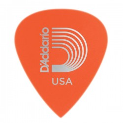 D'Addario 6DOR2-25 Duralin Precision Guitar Picks, Light, 25 pack