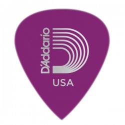 D'Addario 6DPR6-25 Duralin Precision Guitar Picks, Heavy, 25 pack