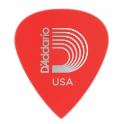D'Addario 6DRD1-100 Duralin Precision Guitar Picks, Super Light, 100pk