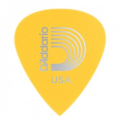 D'Addario 6DYL3-25 Duralin Precision Guitar Picks, Light/Medium, 25 pk