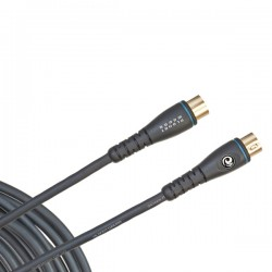 D'Addario PW-MD-05 Custom Series MIDI Cable, 5 feet