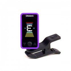 D'Addario PW-CT-17PR Eclipse Headstock Tuner, Purple