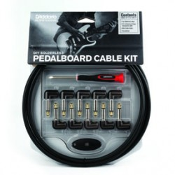D'Addario PW-GPKIT-10 Pedalboard Cable Kit 10ft
