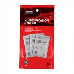 D'Addario PW-HPRP-03 Humidipak System Replacement Packets, 3-pack