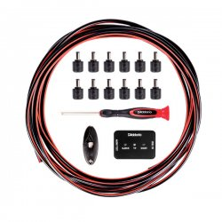 D'Addario PW-PWRKIT-20 DIY Solderless Pedalboard Power Cable Kit