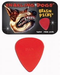 Snarling Dogs Brain Picks 12-pack Tin, .73 mm